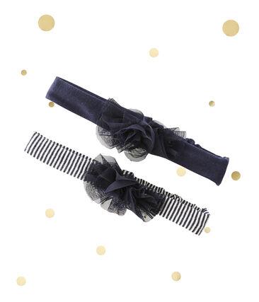 Set van 2 haarbanden voor babymeisjes Petit bateau x Marie-Agnès Gillot set .