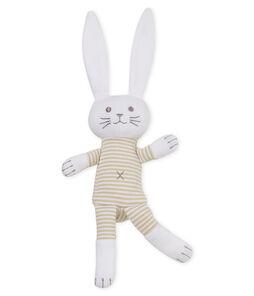 Uniseks konijnknuffel met rammelaar voor baby's