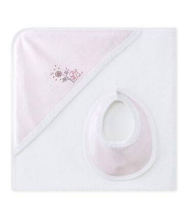 Doos badcape voor babymeisjes