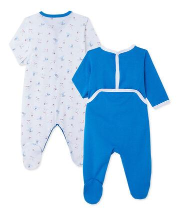 Cadeauset van 2 pyjamapakjes voor jongetje (baby)