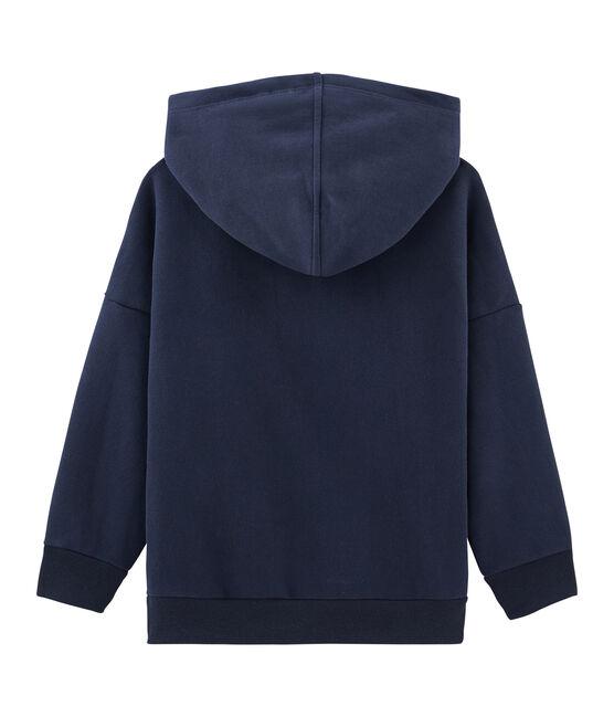 Sweatshirt kinderen gemixt blauw Smoking