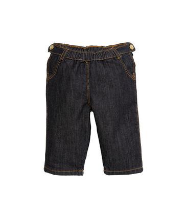 Pantalon bébé fille en denim bleu Jean