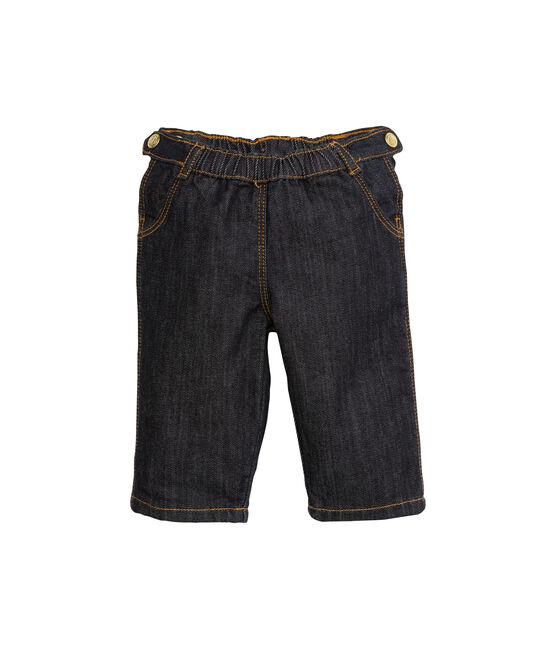 Broek in denim voor babymeisjes blauw Jean