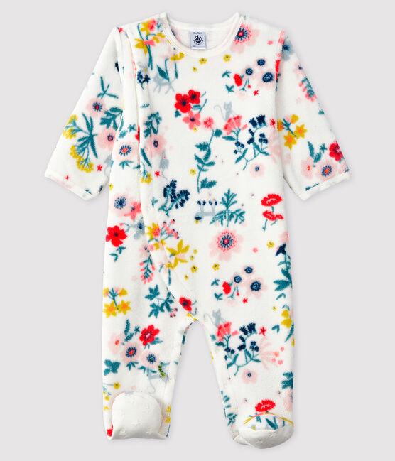 bol.com | IDO Meisjes Baby pyjama - grijs melee - Maat 68