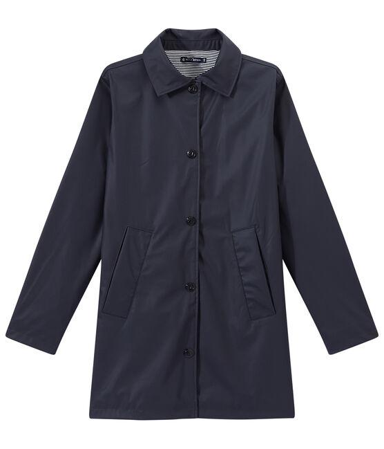 Regenjas voor dames blauw Smoking