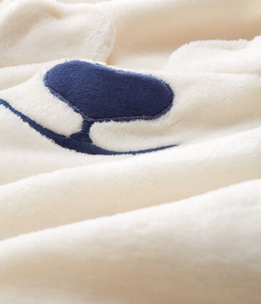 Fleece slaappakje baby wit Marshmallow