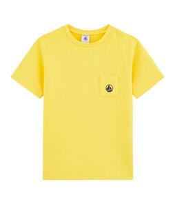 T-shirt voor jongens geel Shine