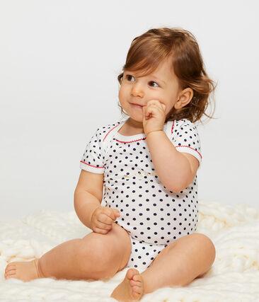 Drie rompertjes met korte mouwen voor babymeisjes set .