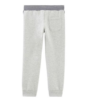 Pantalon molleton enfant garçon gris Beluga