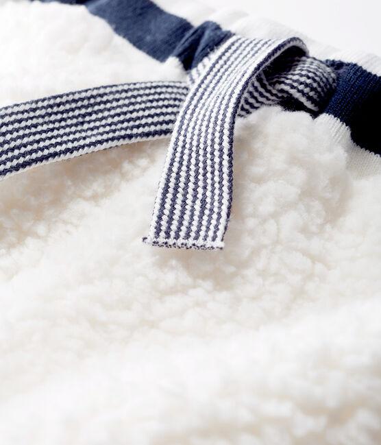 Babybroek gemixt van sherpa wit Marshmallow