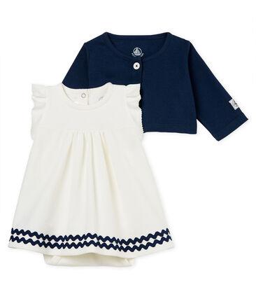 Bodyjurk met vestje voor babymeisjes