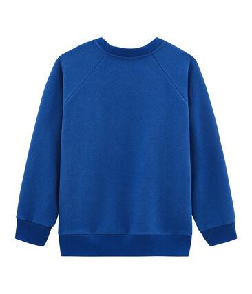 Sweatshirt enfant garçon bleu Limoges