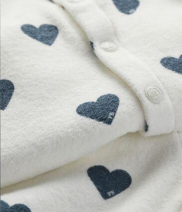 Set Sweatshirt and leggings voor baby wit Marshmallow / blauw Astro