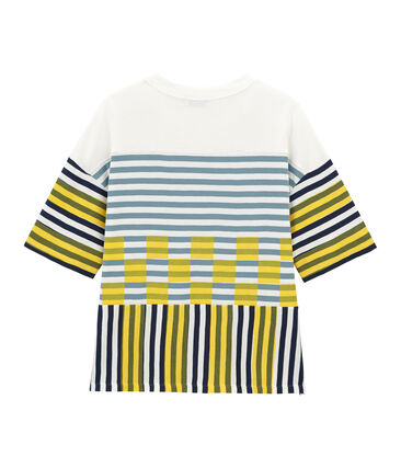 Gemengd grafisch t-shirt met korte mouwen