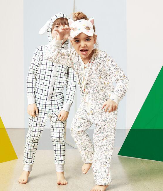 Lang pakje voor meisjes wit Marshmallow / wit Multico
