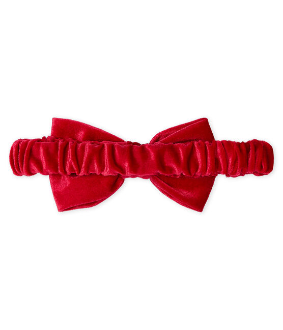 Bandeau enfant fille rouge Terkuit