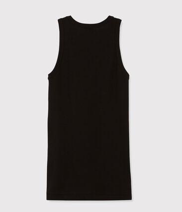 Iconisch vrouwenhemdje zwart Noir