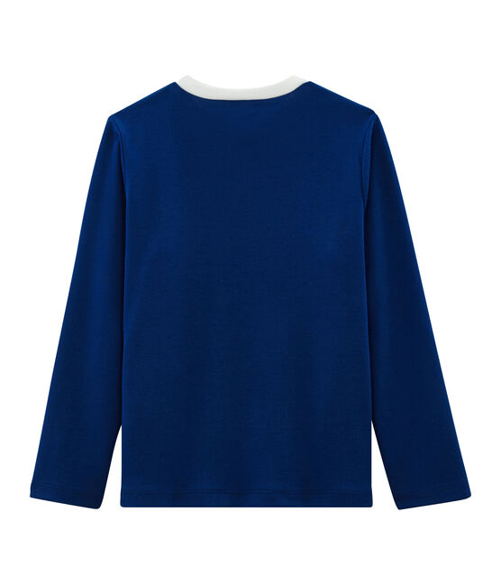 Tee-shirt enfant garcon bleu Limoges