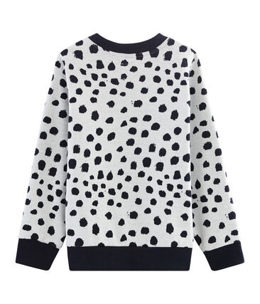 Sweater Jean Jullien MARSHMALLOW/DOTTIES
