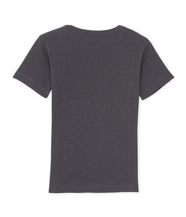 Jongens-T-shirt met V-hals en motief
