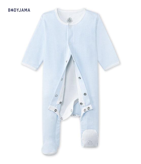 Unisex Bodyjama blauw Fraicheur / wit Ecume