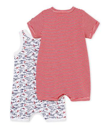 Set van twee korte pakjes voor babyjongens