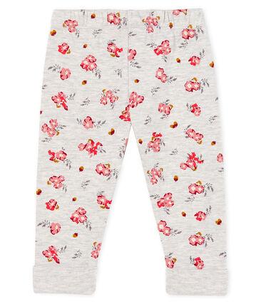 Broek van tunic met print babymeisje