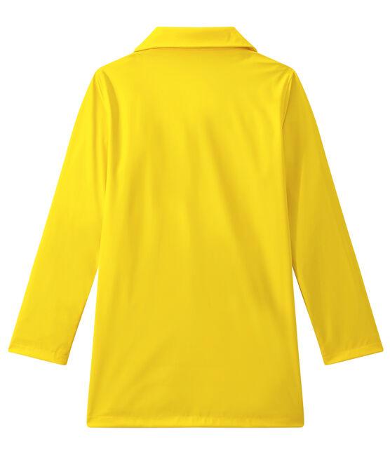Ciré femme imperméable forme pardessus jaune Jaune