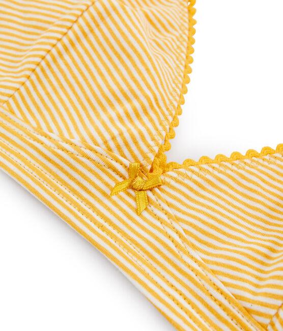 Trianglebeha geel Boudor / wit Marshmallow
