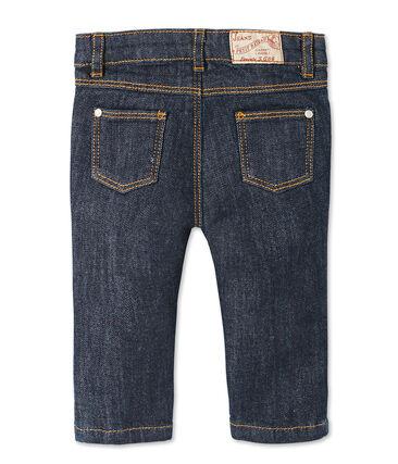 Slim broek van spijkerstof voor baby's blauw Jean