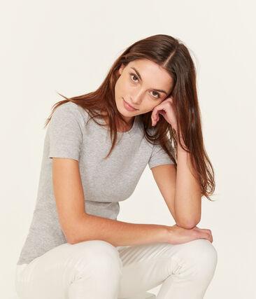 Iconisch damesshirt grijs Beluga