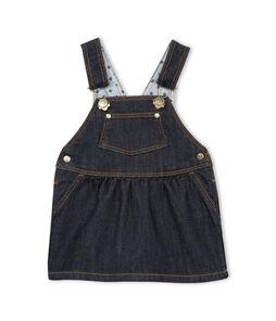 Salopette jurk van spijkerstof babymeisje