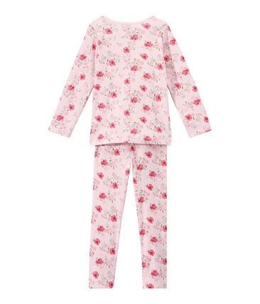 Pyjama fille imprimé fleurs
