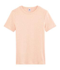 Iconisch damesshirt roze Aster Chine