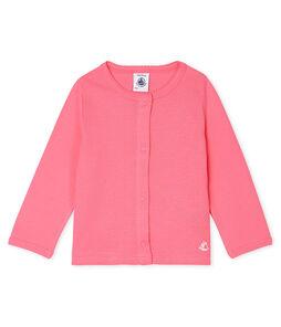 Lichte cardigan babymeisje roze Cupcake