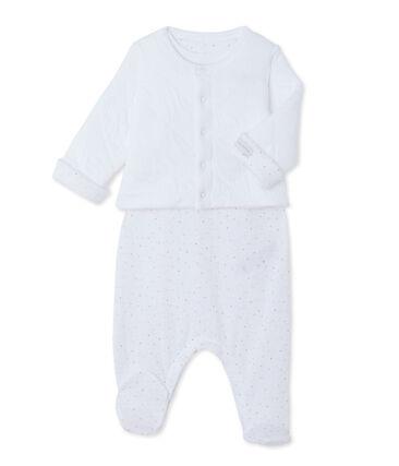 Babyset met cardigan en pyjama