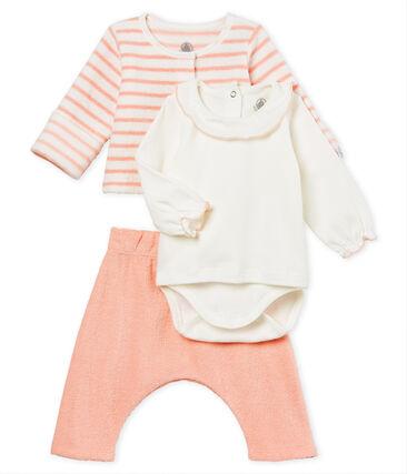 Ensemble van 3 delen voor babymeisjes