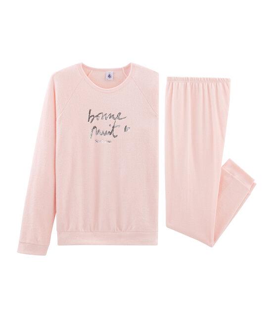 Pyjama fille en bouclette éponge grattée extra chaude MINOIS