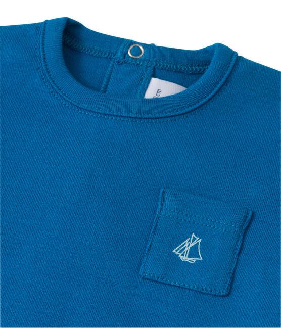 T-shirt bébé garçon bleu Delft
