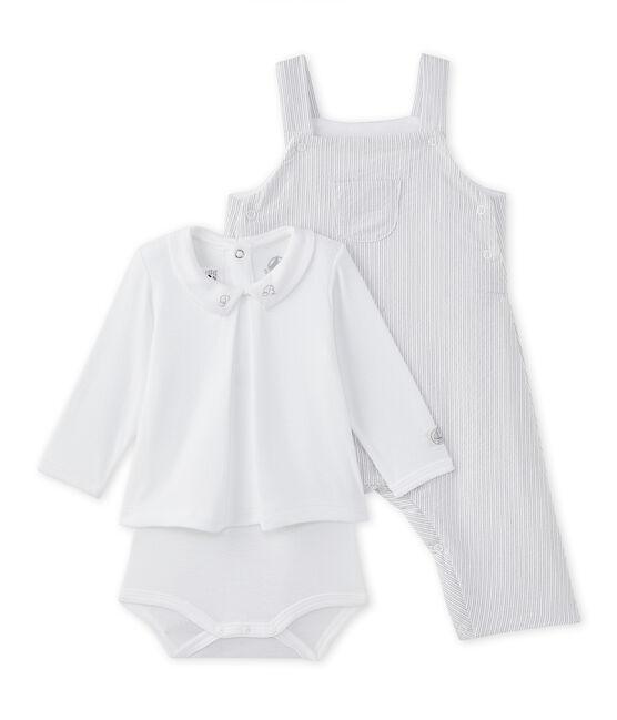 Tweedelige set voor babyjongens wit Ecume / beige Beige