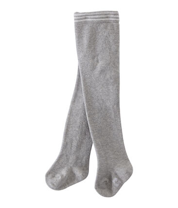 Collants bébé fille gris Beluga Chine