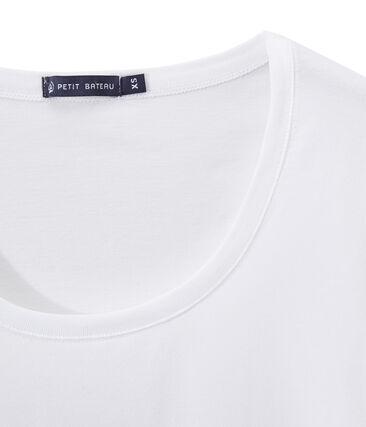 Dames-T-shirt WIJDE HALS uit fijne jersey