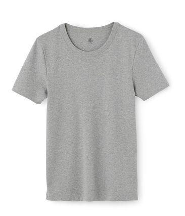 Iconisch T-shirt met lange mouwen mannen grijs Subway