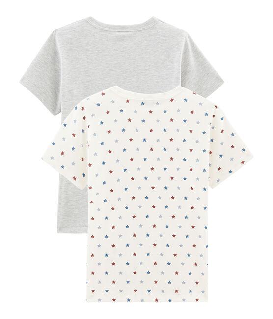 Duo T-shirts met korte mouwen voor jongens set .