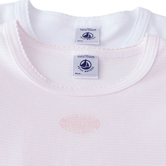 Set van 2 T-shirts voor meisjes set .