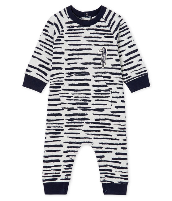 Combinaison longue bébé garçon Jean Jullien MARSHMALLOW/DASH