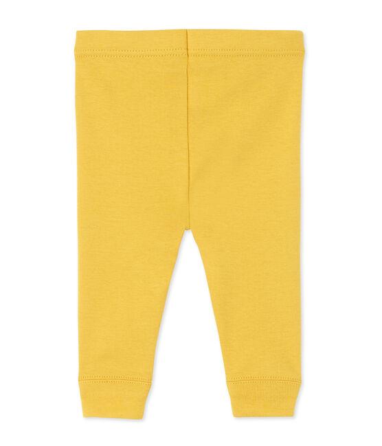 Legging bébé fille jaune Ocre