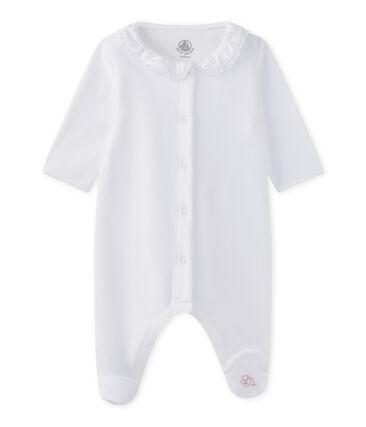 Slaappakje uit fluweel voor babymeisjes