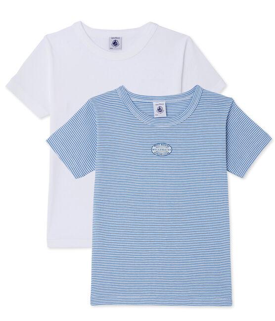 Lot de 2 t-shirts ado garçon lot .