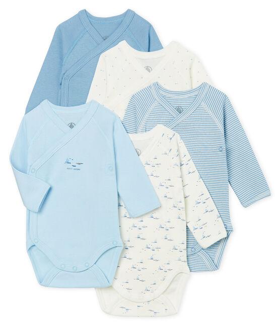 Set van 5 rompertjes pasgeborenen lange mouwen baby set .